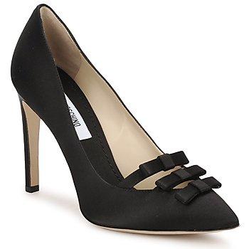 Cipők Női Félcipők Moschino MA1012 Fekete