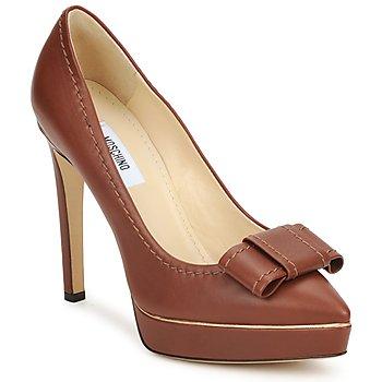 Cipők Női Félcipők Moschino MA1009 Dohány