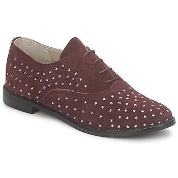 Cipők Női Bokacipők Meline DERMION BIS Bordó