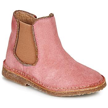Cipők Lány Csizmák André ARIA Rózsaszín
