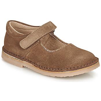 Cipők Lány Balerina cipők / babák André LAURIANNE Barna