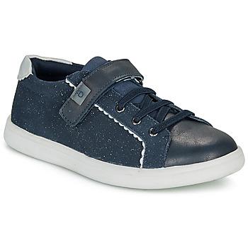 Cipők Lány Rövid szárú edzőcipők André EUGENIA Fekete