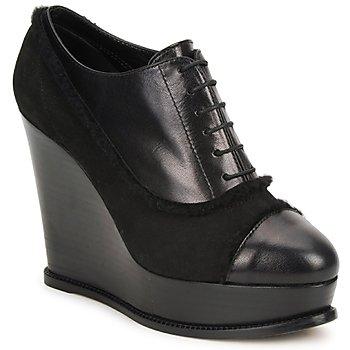 Cipők Női Bokacsizmák Moschino Cheap & CHIC CA1014 Fekete