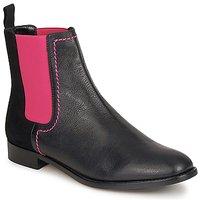Cipők Női Csizmák Moschino Cheap & CHIC CA2112 Fekete  / Rózsaszín
