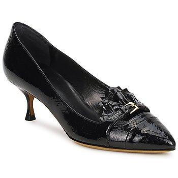 Cipők Női Félcipők Moschino Cheap & CHIC CA1021 Fekete