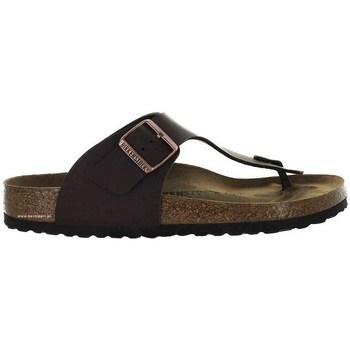 Cipők Férfi Lábujjközös papucsok Birkenstock Ramses BF Barna