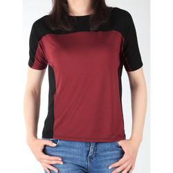 Ruhák Női Rövid ujjú pólók Lee Koszulka  Color Block T L40XJMLL czarny, bordowy