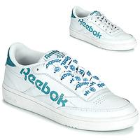 Cipők Női Rövid szárú edzőcipők Reebok Classic CLUB C 86 Fehér / Kék