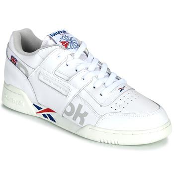 Cipők Rövid szárú edzőcipők Reebok Classic WORKOUT PLUS MU Fehér / Kék / Piros