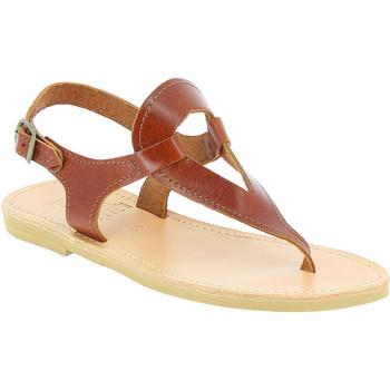 Cipők Női Szandálok / Saruk Attica Sandals ARTEMIS CALF DK-BROWN marrone