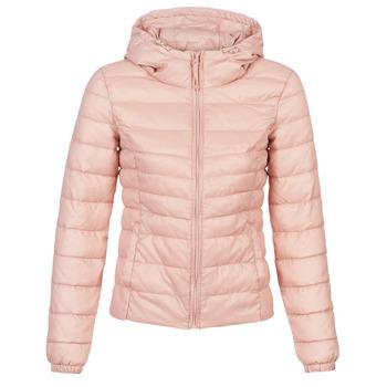 Ruhák Női Steppelt kabátok Only ONLTAHOE Rózsaszín