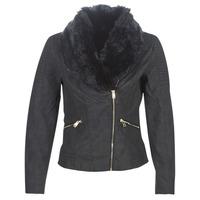 Ruhák Női Bőrkabátok / műbőr kabátok Only ONLCLASSY Fekete