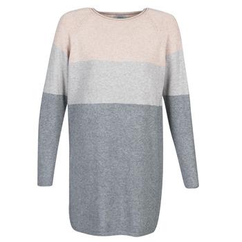 Ruhák Női Rövid ruhák Only ONLLILLO Szürke / Rózsaszín