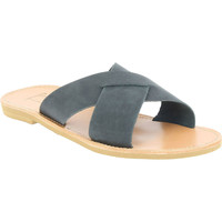Cipők Férfi Papucsok Attica Sandals ORION NUBUCK BLACK nero
