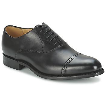 Cipők Férfi Bokacipők Barker BURFORD Fekete