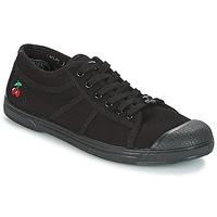 Cipők Női Rövid szárú edzőcipők Le Temps des Cerises BASIC 02 MONO Fekete