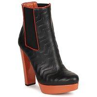 Cipők Női Bokacsizmák Missoni STAMP Fekete