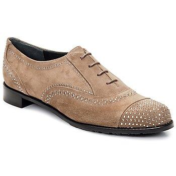 Cipők Női Bokacipők Stuart Weitzman DERBY Bézs