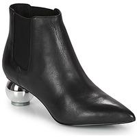 Cipők Női Bokacsizmák Katy Perry THE DISCO Fekete