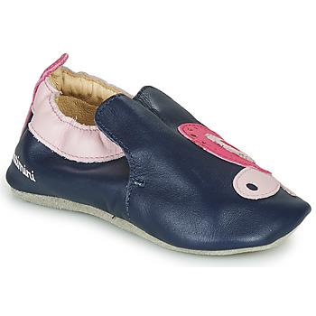 Cipők Lány Mamuszok Catimini CITOLA Tengerész / Rózsaszín