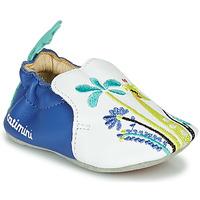 Cipők Lány Mamuszok Catimini COLIMA Fehér / Kék