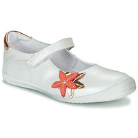 Cipők Lány Balerina cipők  GBB EMILIETTE Fehér