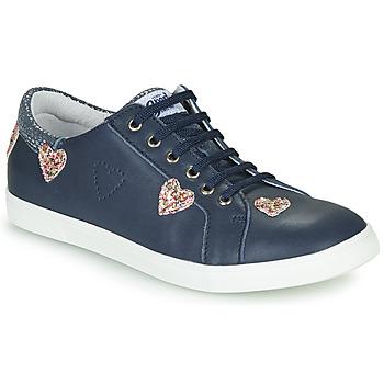 Cipők Lány Rövid szárú edzőcipők GBB ASTROLA Tengerész
