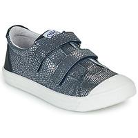 Cipők Lány Rövid szárú edzőcipők GBB NOELLA Tengerész