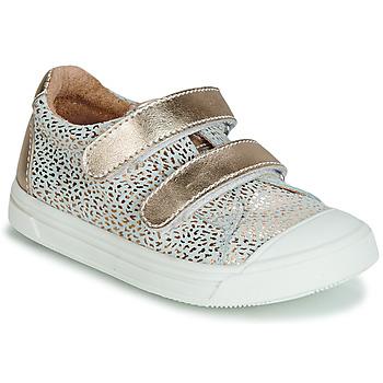 Cipők Lány Rövid szárú edzőcipők GBB NOELLA Arany