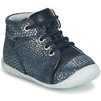 Cipők Lány Magas szárú edzőcipők GBB OLSA Kék