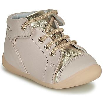 Cipők Lány Magas szárú edzőcipők GBB OLSA Fehér