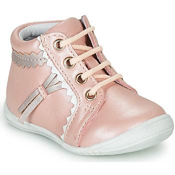 Cipők Lány Magas szárú edzőcipők GBB ACINTA Rózsaszín