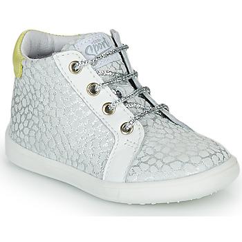 Cipők Lány Magas szárú edzőcipők GBB FAMIA Ezüst