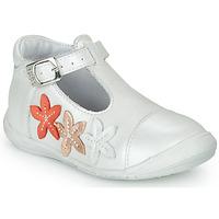 Cipők Lány Balerina cipők  GBB AGATTA Fehér