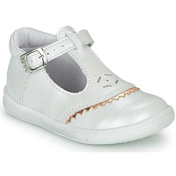 Cipők Lány Balerina cipők  GBB AGENOR Fehér