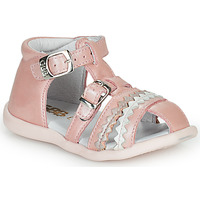 Cipők Lány Szandálok / Saruk GBB ALIDA Rózsaszín