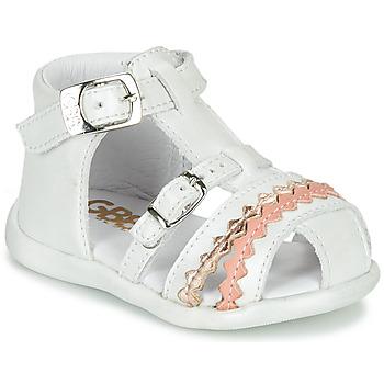 Cipők Lány Szandálok / Saruk GBB ALIDA Fehér