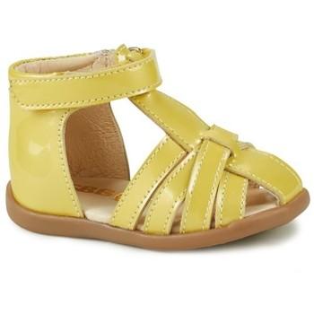 Cipők Lány Szandálok / Saruk GBB AGRIPINE Citromsárga