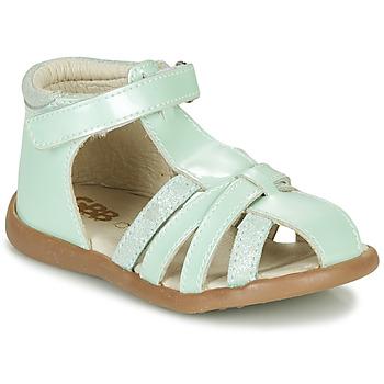 Cipők Lány Szandálok / Saruk GBB AGRIPINE Zöld