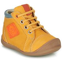 Cipők Fiú Magas szárú edzőcipők GBB TARAVI Citromsárga
