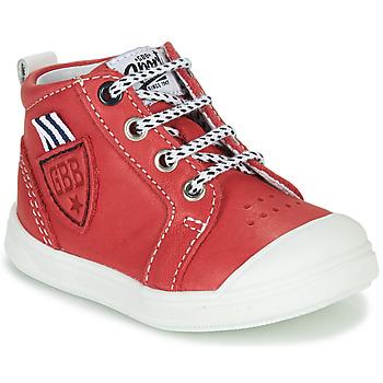 Cipők Fiú Magas szárú edzőcipők GBB GREGOR Piros