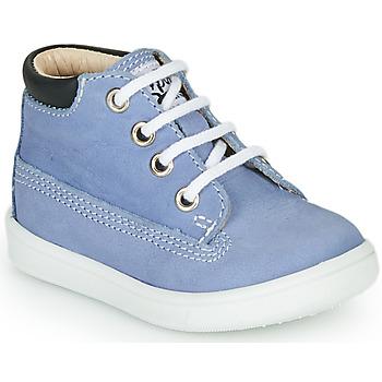 Cipők Fiú Magas szárú edzőcipők GBB NORMAN Kék