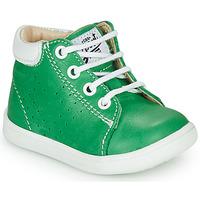 Cipők Fiú Magas szárú edzőcipők GBB FOLLIO Zöld