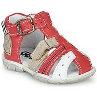 Cipők Fiú Szandálok / Saruk GBB BYZANTE Piros
