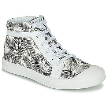Cipők Lány Magas szárú edzőcipők GBB NAVETTE Fekete  / Fehér