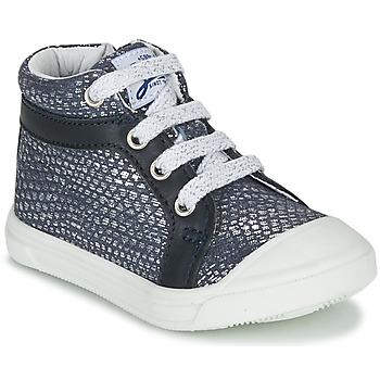 Cipők Lány Magas szárú edzőcipők GBB NAVETTE Kék