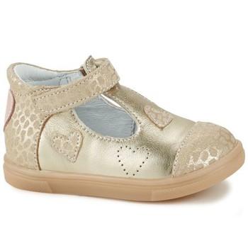 Cipők Lány Rövid szárú edzőcipők GBB ANISA Bézs