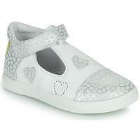 Cipők Lány Balerina cipők  GBB ANISA Fehér