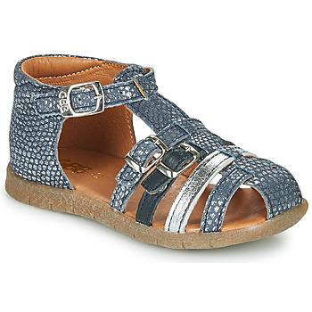 Cipők Lány Szandálok / Saruk GBB PERLE Kék