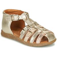 Cipők Lány Szandálok / Saruk GBB PERLE Arany